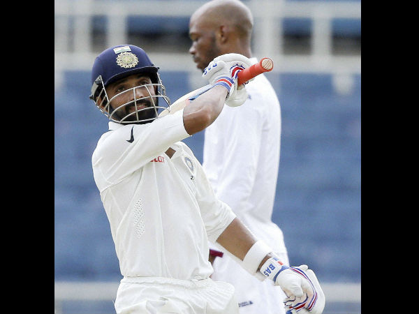 Rahane slams 7th Test ton