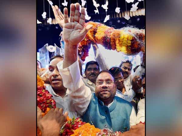 Former BSP leader Swamy Prasad Maurya joins BJP