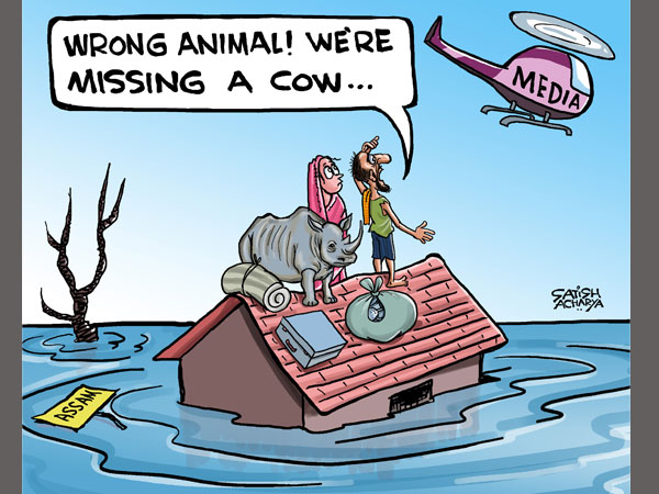 Why is everyone ignoring Assam floods?