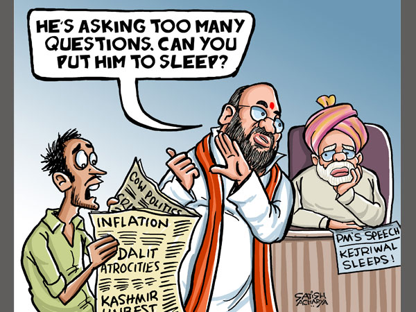 PM Modi to work his lullaby magic on citizens?