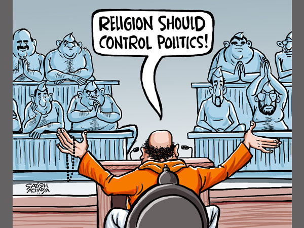Should religion control politics or vice-versa?