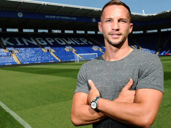 Danny Drinkwater at Kingpower stadium (Image courtesy: Leicester City FC Twitter)
