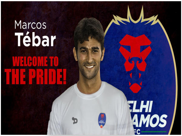 Delhi Dynamos sign Marcos Tebar (Image courtesy: Delhi Dynamos Twitter handle)