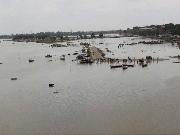 File photo of pollution in river Ganga