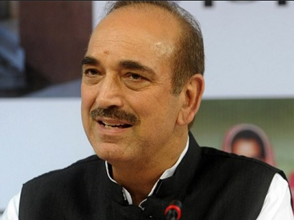 PM doing poetry on Kashmir, says Ghulam Nabi Azad