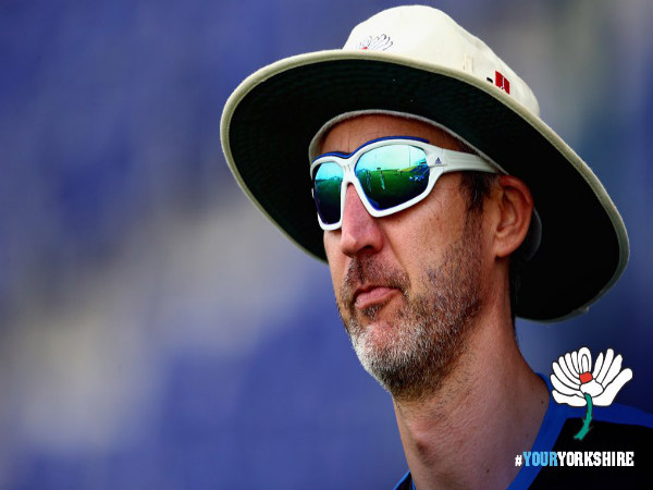 Yorkshire County Cricket Club coach Jason Gillespie (Image Courtesy: Yorkshire County Cricket Club Twitter handle)