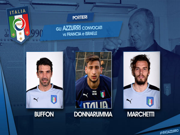 Italy announce squad for international friendlies (Image courtesy: Italy Twitter handle)