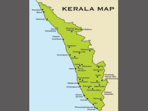 Malayalam New Year begins in Kerala - Oneindia News on kerala political map, kerala road map, karnataka tourism map,