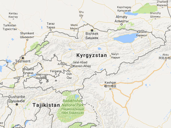 News flash: Explosion at Chinese Embassy in Kyrgyzstan