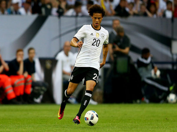 Leroy Sane in action for Germany at Euro 2016 (Image courtesy: UEFA Euro Twitter handle)