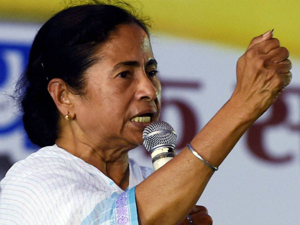 Centre pushing states towards debt trap: Mamata.