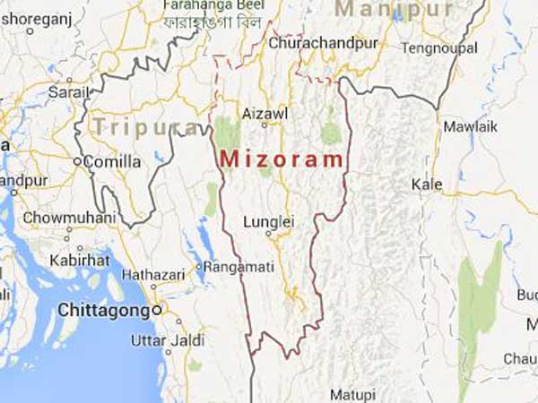 Mizoram is one of most peaceful,
