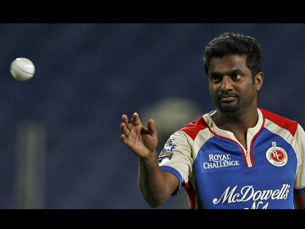 A file picture of Muttaiah Muralitharan