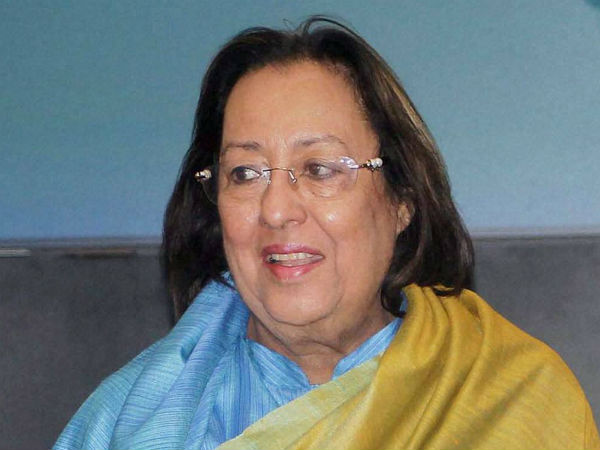 Heptulla sworn-in as Governor of Manipur