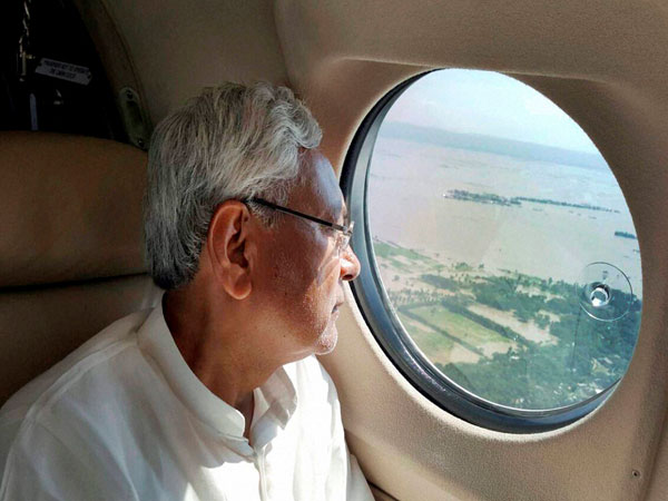 Nitish indulging in 'flood tourism': BJP