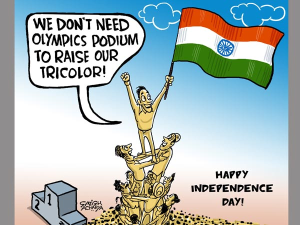 Indians don't need Olympics as an excuse to hoist the Tricolour
