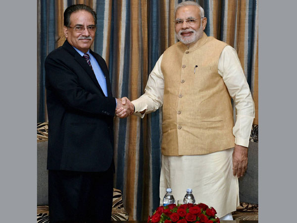 Prachanda files candidature for Nepal PM