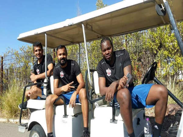 FC Pune City at Spain for pre-season training (Image courtesy: FC Pune City Twitter handle)
