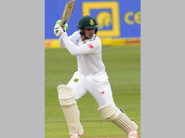 Quinton de Kock in action against New Zealand (Image courtesy: Cricket South Africa Twitter handle)