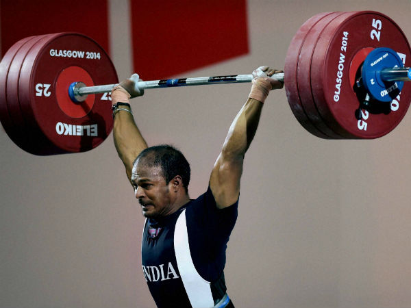 India's Sathish Sivalingam wins a gold medal in the Men's Weightlifting 77kg category during the Glasgow 2014 Commonwealth Games.