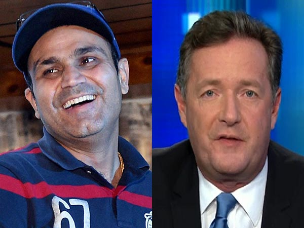 England ODI record: Piers Morgan deletes tweet as attempt to mock Virender Sehwag backfires
