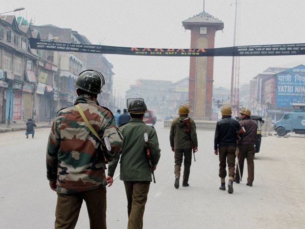 Curfew continues for 50th day