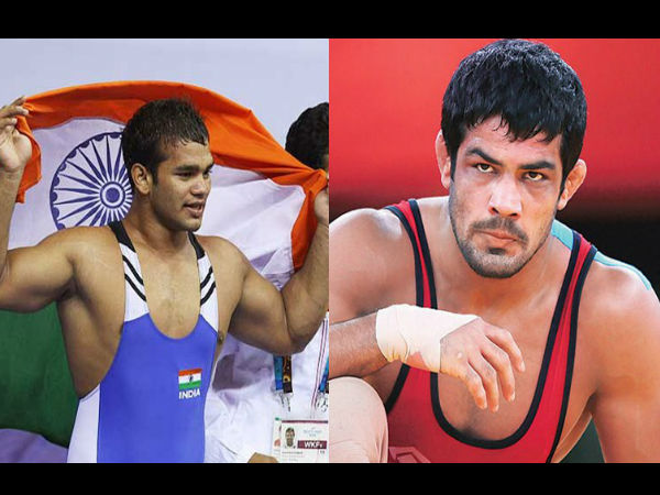 Sushil Kumar congratulates Narsingh Yadav after NADA exonerates Rio-bound wrestler