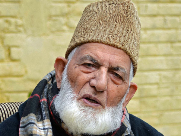 Separatists funded by terrorists: No teething hurry to question Geelani
