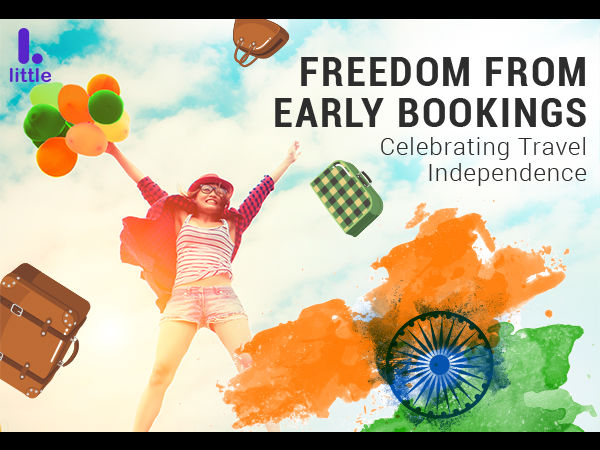 YES NOW! Celebrate Travel Independence, Get Rs.1947 Off On Last Minute Hotel Bookings