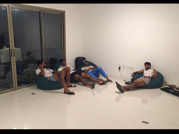 Only bean bags in Indian Hockey players' rooms at Olympic Village