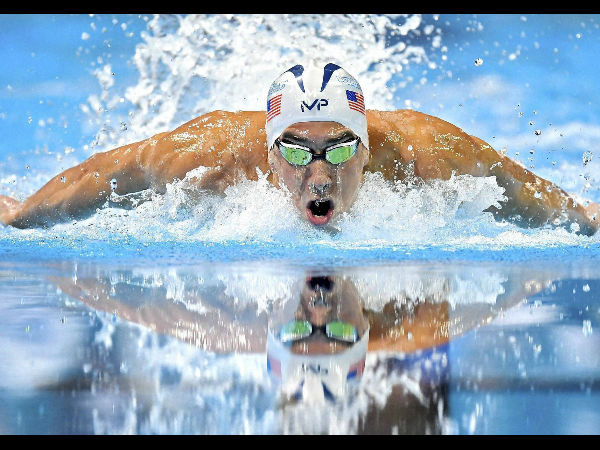 Rio Olympics 2016: Michael Phelps eases into first practice session