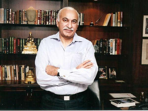 Minister of State for External Affairs MJ Akbar