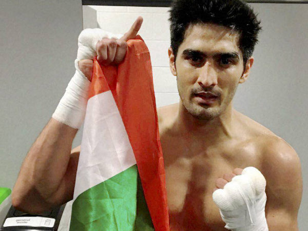A file picture of Vijender Singh