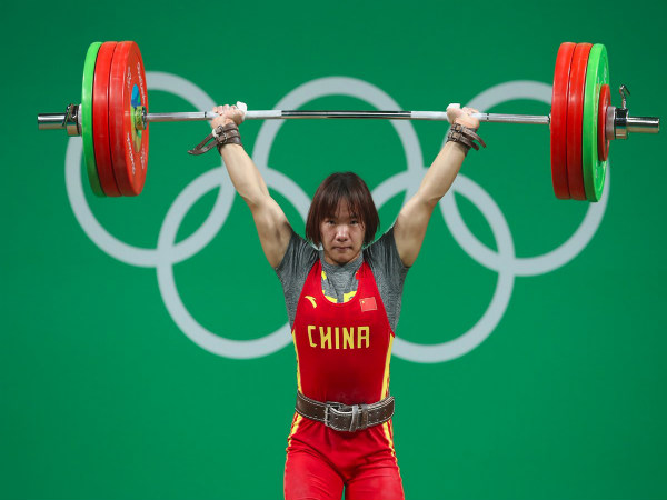 Xiang Yanmei of China wins gold medal in women's 69 kg category