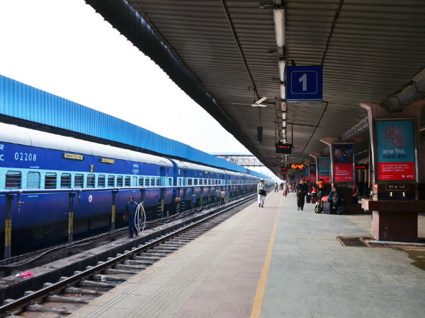 Low intensity blast in a train near Kanpur