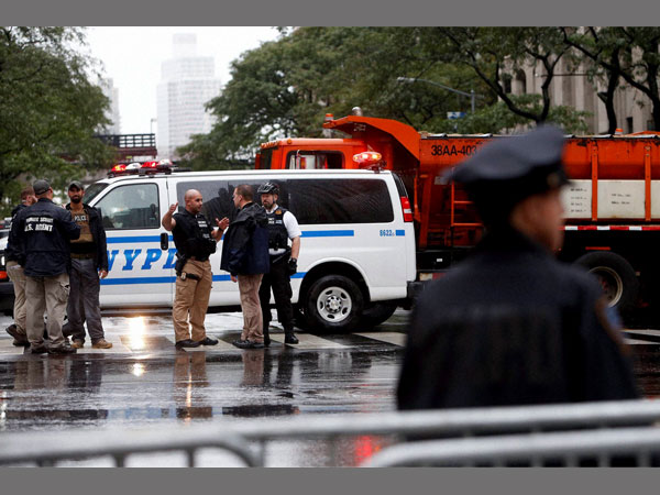 Security stepped up near United Nations headquarters