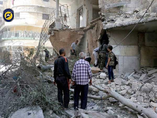 24 people killed in a series of bombings in Aleppo