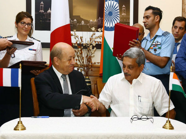 In Pics: Signing of Rafale Fighter Jets deal