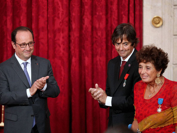 France honours Francoise Rudetzki, Mark Mooligan