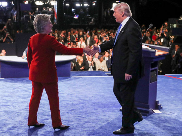 Trump, Clinton take jibes at each other