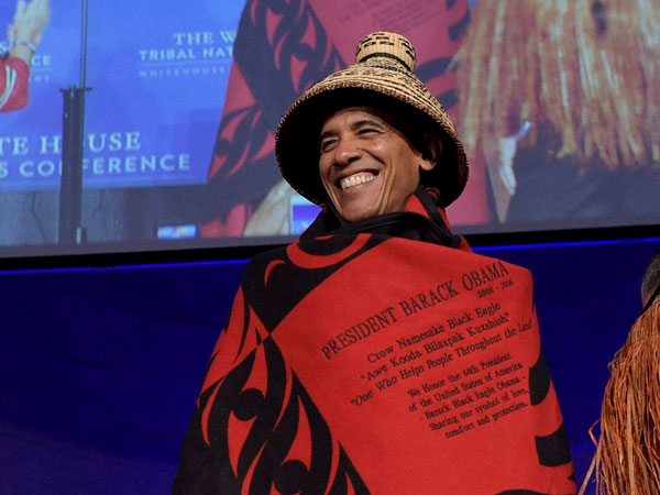Obama at the White House Tribal Nations Conference