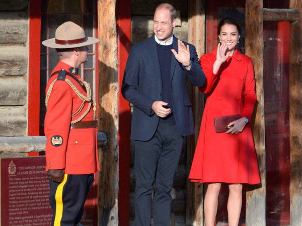 William and Kate tour MacBride Museum of Yukon History
