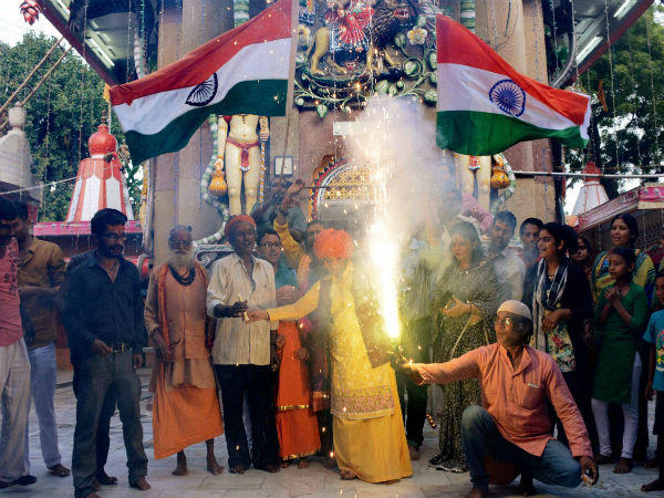 In Pics: India celebrates Surgical Strike by army across LoC