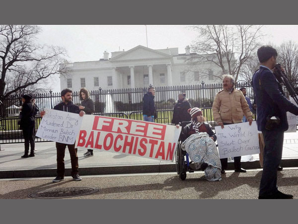 Baloch nationalists protest in Houston