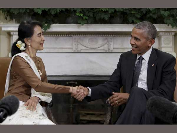 US to lift sanctions against Myanmar