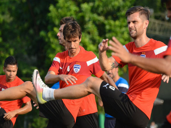 Bengaluru FC players training (Image courtesy: Bengaluru FC Twitter)