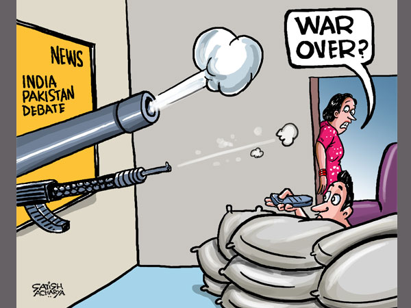 CARTOON: Stop dreaming about Kashmir: India tells Pak