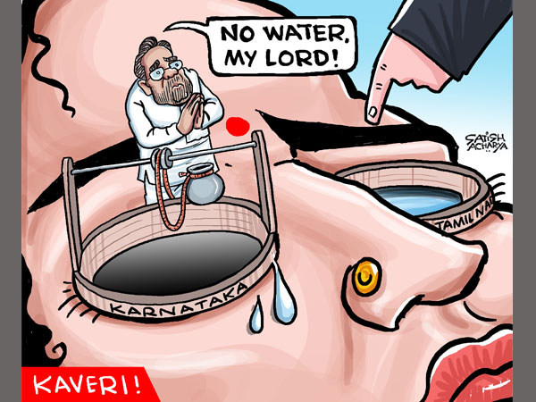 CARTOON: Karnataka defies SC, does not release water to TN