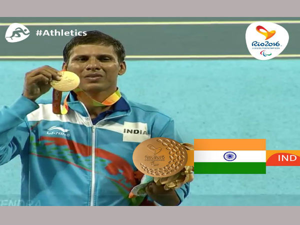 Devendra Jhajharia wins second Paralympic gold
