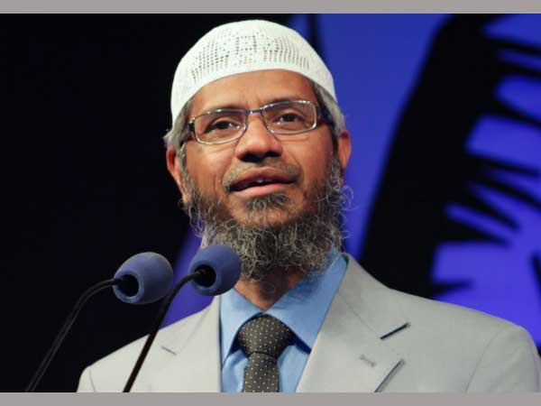 Have done nothing wrong, says Zakir Naik